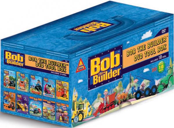 Bob The Builder Tool-Box Coffret 10 DVD (Seulement en anglais)