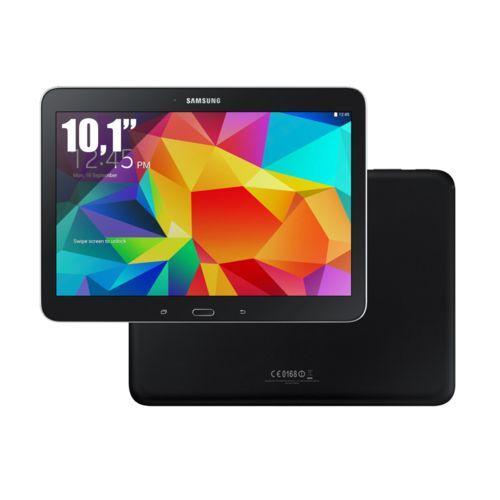 """Tablette 10.1"""" Samsung Galaxy Tab 4 - 16 Go, Wifi,1,5 Go de Ram, Android 4.4, Noir"""