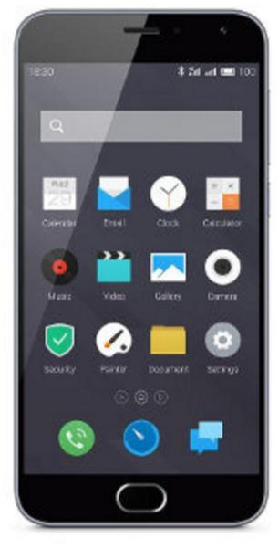 """Smartphone 5"""" Meizu M2 Gris 16Go + Carte SDHC Lexar - 16Go (via ODR de 30€)"""