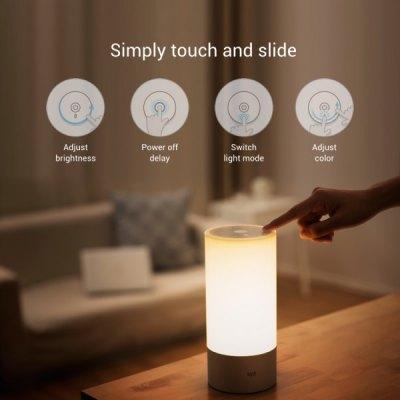 Lampe de chevet connectée Xiaomi YeeLight - Bluetooth, 16 millions de couleurs