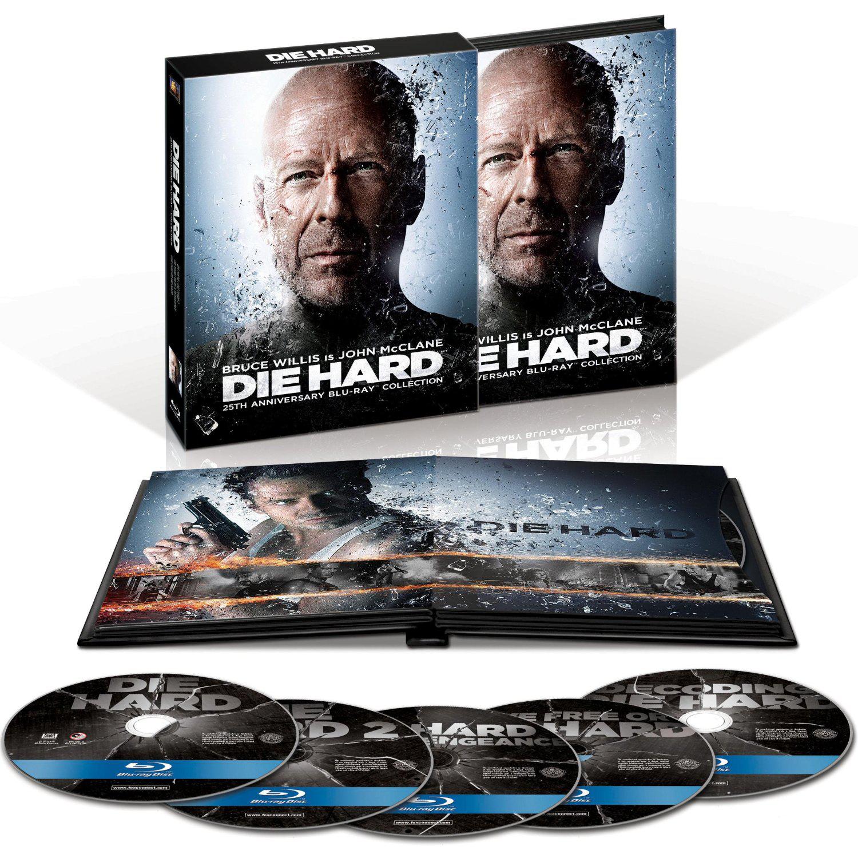 Coffret Blu-ray Quadrilogie Die Hard Edition 25ème Anniversaire (en FR, Zoné ?)