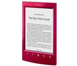 Ebook / Liseuse Sony PRS-T2 rouge, blanche ou noire (Après ODR de 30€)