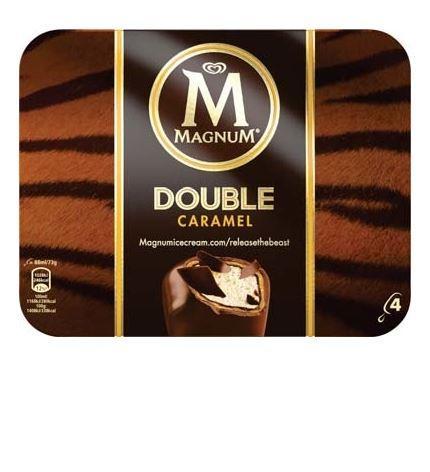 Boîte de Magnum Double Caramel - 276g (Via remise immédiate + BDR)