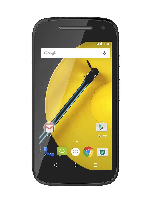 """Smartphone 4.5"""" Motorola Moto E 4G (2ème Génération) - 8 Go, Noir ou Blanc"""