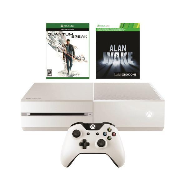 Jusqu'à 165 € remboursés en bon d'achat sur une sélection d'offres Xbox One - Ex: Pack Xbox One 500Go Blanche + Quantum Break + Alan Wake + 150€ en bon d'achat