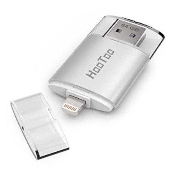 Clé USB 3.0 HooToo avec Connecteur Lightning - 64Go