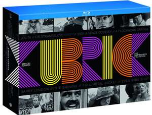 Coffret Stanley Kubrick - The Masterpiece Collection (10 Blu-ray + Livre de 78 pages) - Import Allemand avec VF (sauf Dr. Strangelove VO)