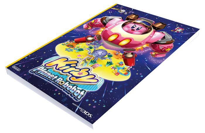 Un bloc-notes Kirby offert pour une précommande de jeux vidéo 3DS et jusqu'à 10% réduction sur précommande
