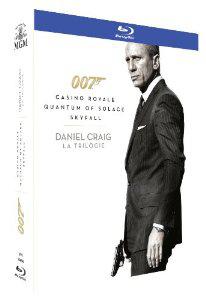 James Bond 007  Daniel Craig : La Trilogie