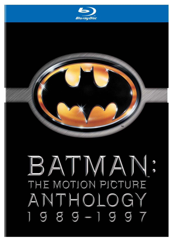 Coffret Blu-ray Batman Anthologie : Batman, Batman Returns, Batman Forever, Batman and Robin