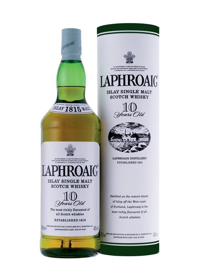 Whisky Laphroaig 10ans 70cl 40° avec étui