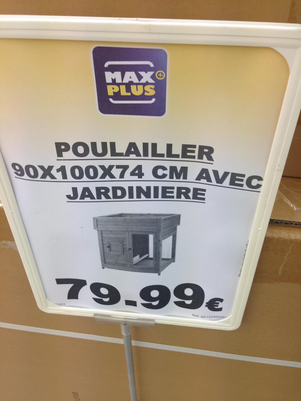 Sélection de promotions - Ex : Poulailler avec jardiniere Nortene - 90 x 100 x 74 cm