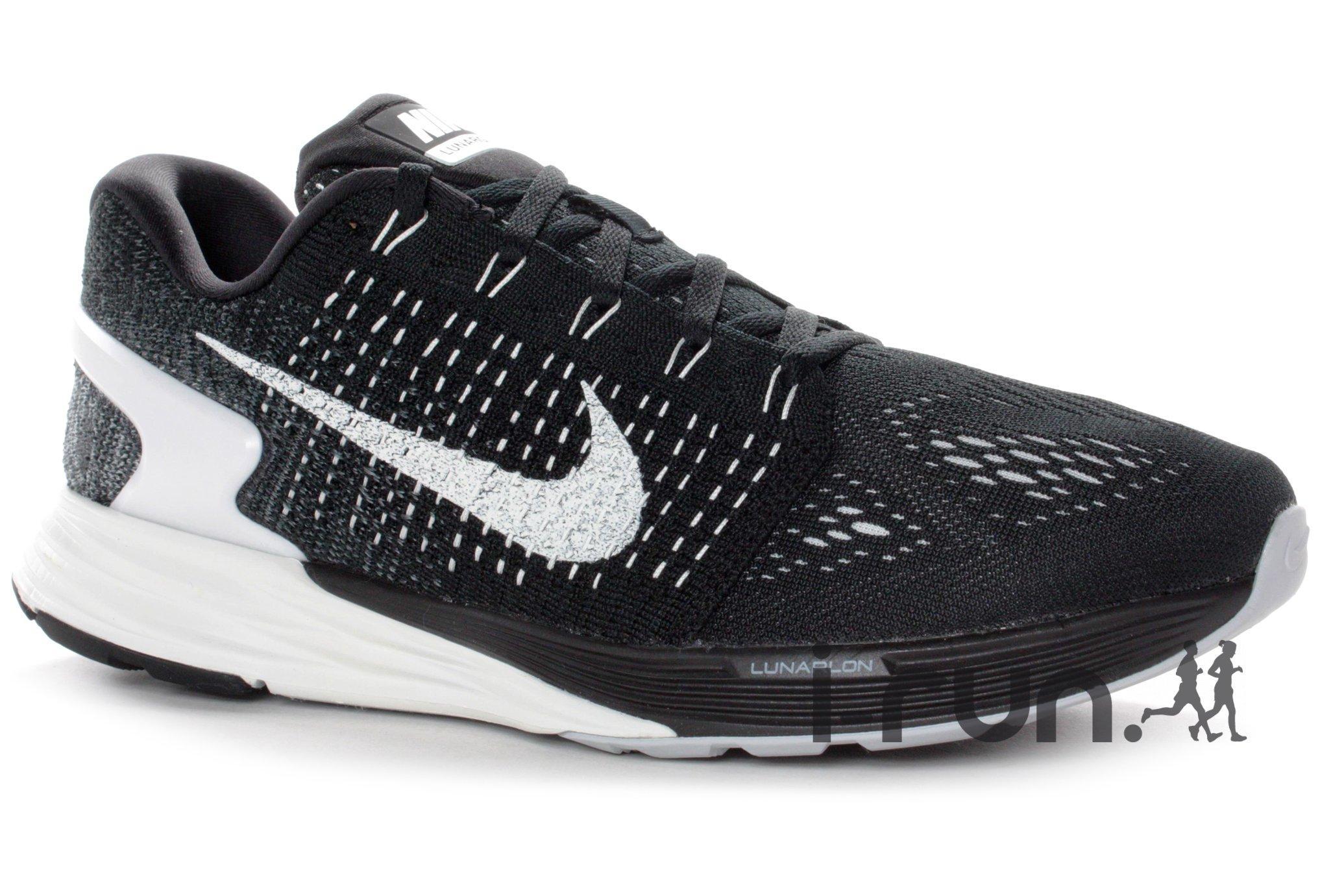 Chaussures Nike Lunarglide 7 M - noir (du 40 au 47.5)