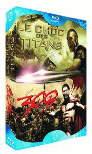 Le Choc des Titans + 300 Blu Ray