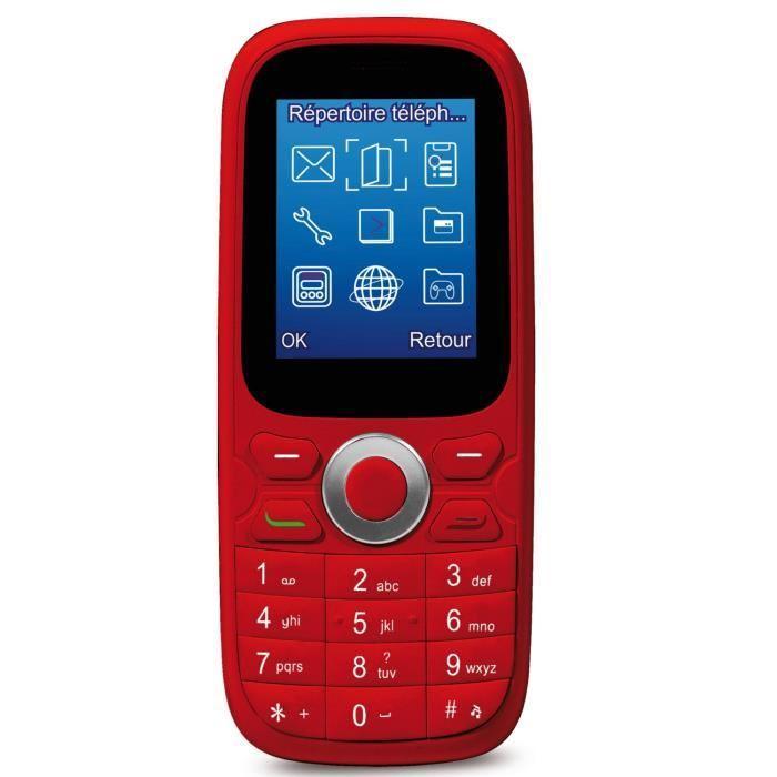 Téléphone Thomson TLink 15 - rouge