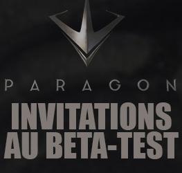Invitation pour la bêta fermée de Paragon