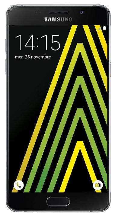 "Smartphone 5.2"" Samsung Galaxy A5 (2016) - 16 Go, Noir (+ jusqu'à 82.16€ en Super Points)"