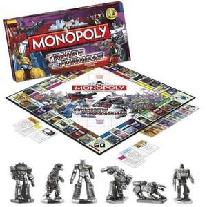Winning-Moves Monopoly - Transformers (anglais)