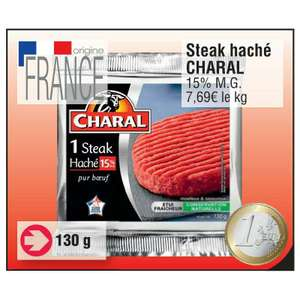 Steak haché Charal gratuit (via BDR)