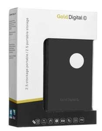 "Disque dur externe 2,5"" Gold Digital - 2 To"