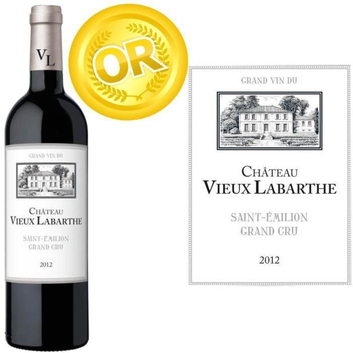 Vin rouge Château Vieux Labarthe Saint Emilion Grand Cru 2012