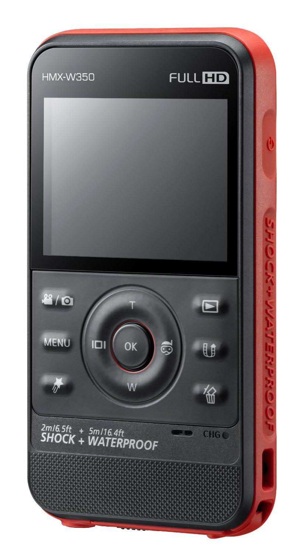 Caméscope Etanche samsung W350 Full HD noir, jaune ou rouge