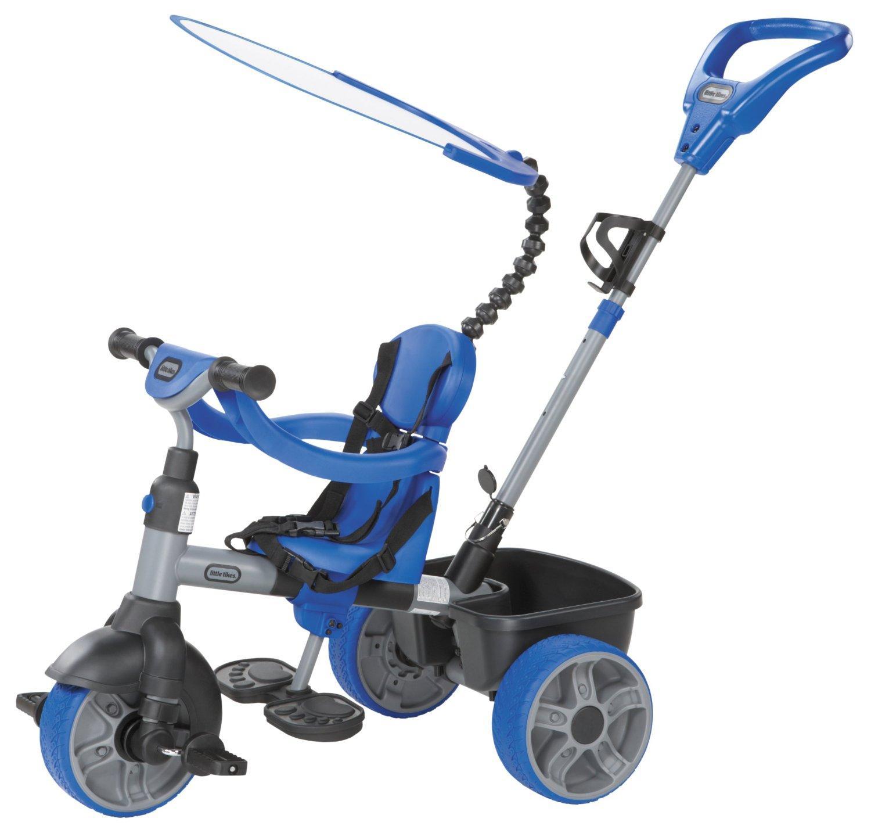 Tricycle Evolutif 4-en-1 Little Tikes 634314E4 - Navy Blue