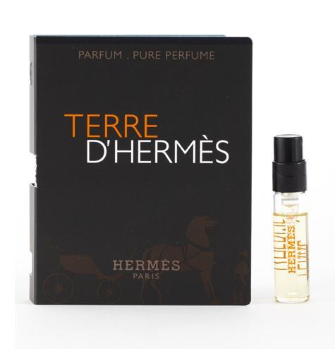 Échantillon de parfum Terre d'Hermès 1,5 ml