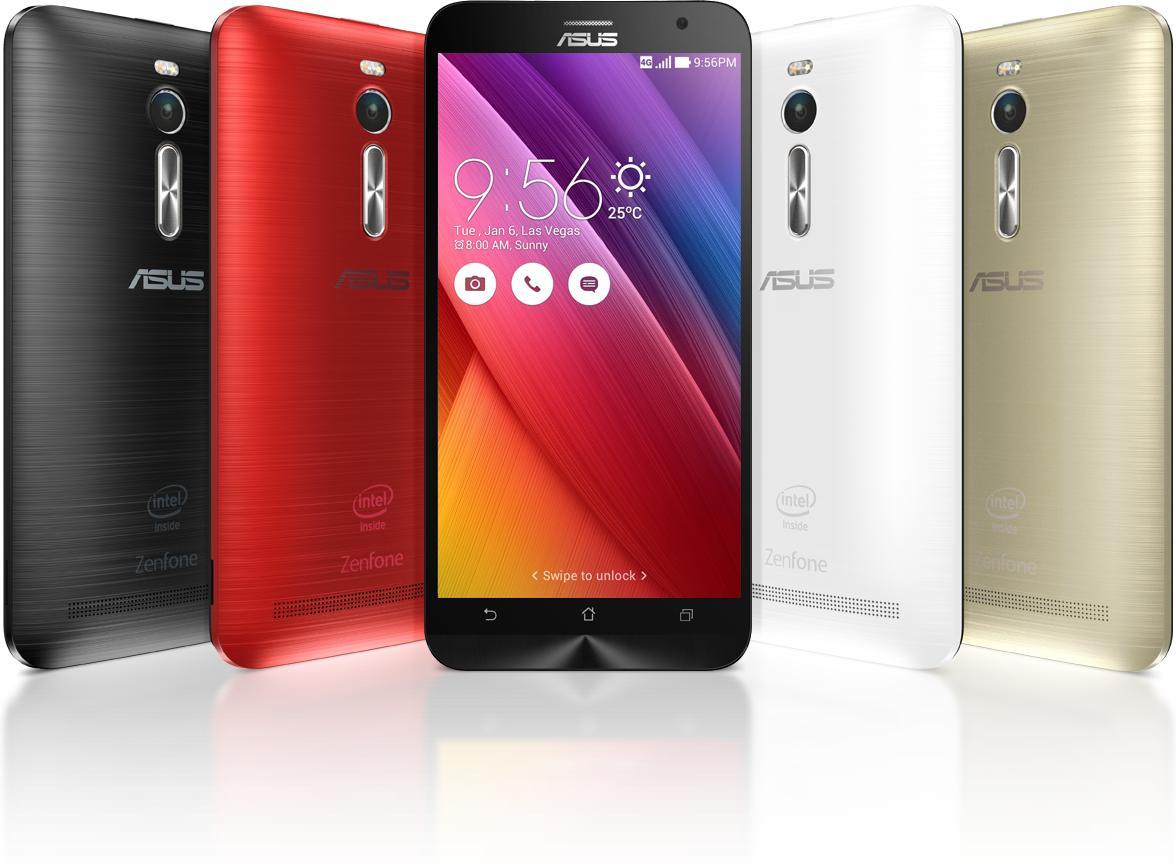 "Smartphone 5.5"" Asus Zenfone 2 ZE551ML 4G - IPS Full HD, Z3580 Quad-Core 1.8 GHz, RAM 2Go, 16Go, Dual SIM, Android 5.0"