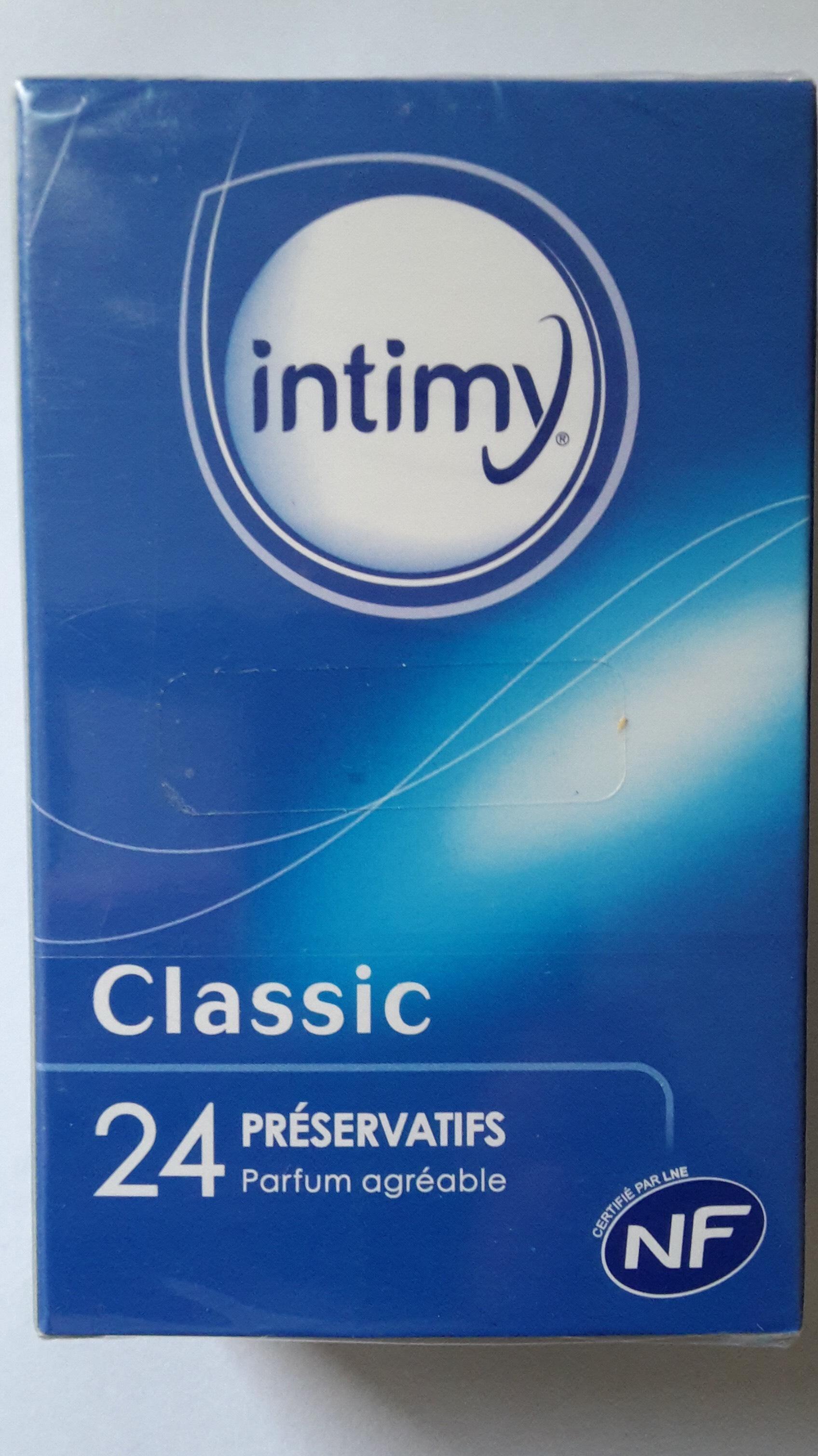 Boite de 24 préservatifs Intimy (via BDR de 1.5€)