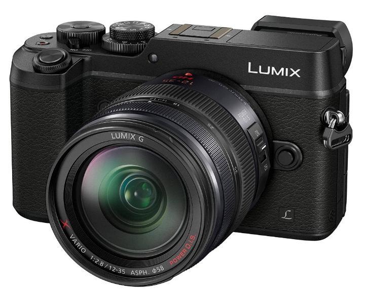 Appareil Photo Panasonic Lumix GX8AEG-K + Objectif Lumix G Vario H-HS12035E (X F2.8 12-35mm)