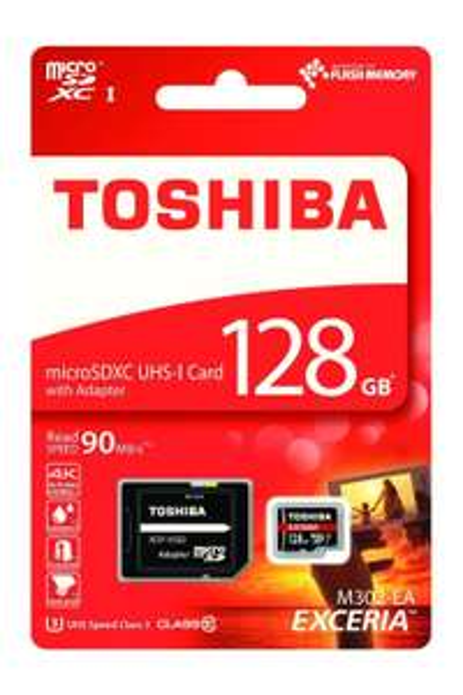 Carte microSDXC Toshiba Exceria M302-EA (version 2016) - 128 Go