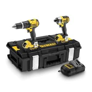 Pack Perceuse et Visseuse Dewalt + 2 batteries - 18V, 4Ah, Li-ion