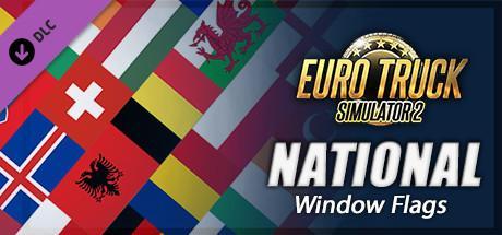 DLC National Window Flag gratuit pour Euro Truck Simulator 2 (au lieu de 0€99)