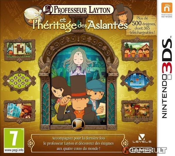 Professeur Layton et l'héritage des Aslantes  sur 3DS