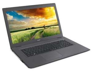"PC portable 17,3"" Acer Aspire E5-773G-715C Noir - Full HD, i7 i7 6500U 2.5 Ghz, RAM 8Go, 1To, GeForce 940M, Windows 10"