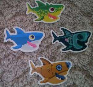 Stickers Requins gratuits