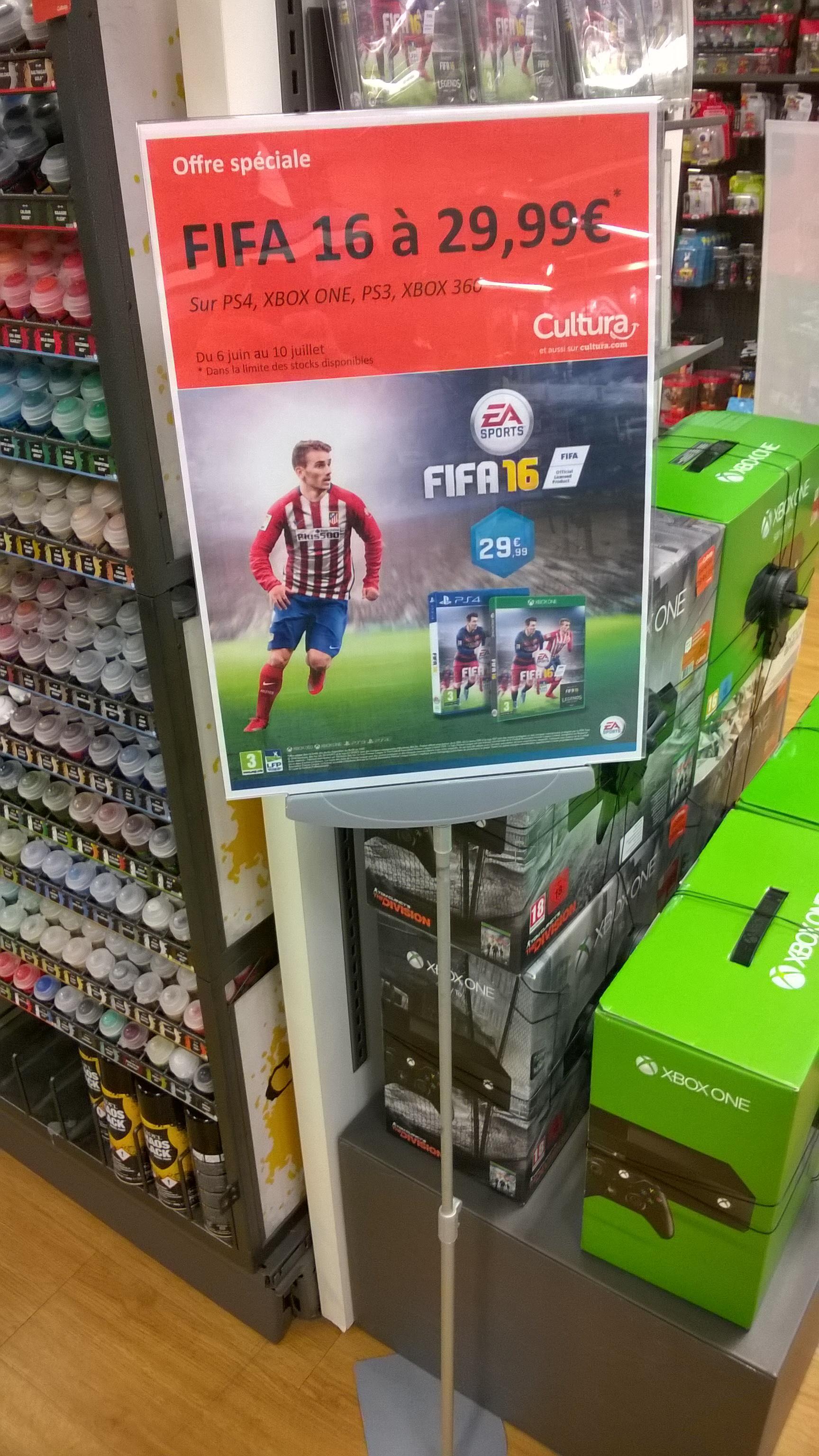 Fifa 16 sur PS4 ou Xbox One