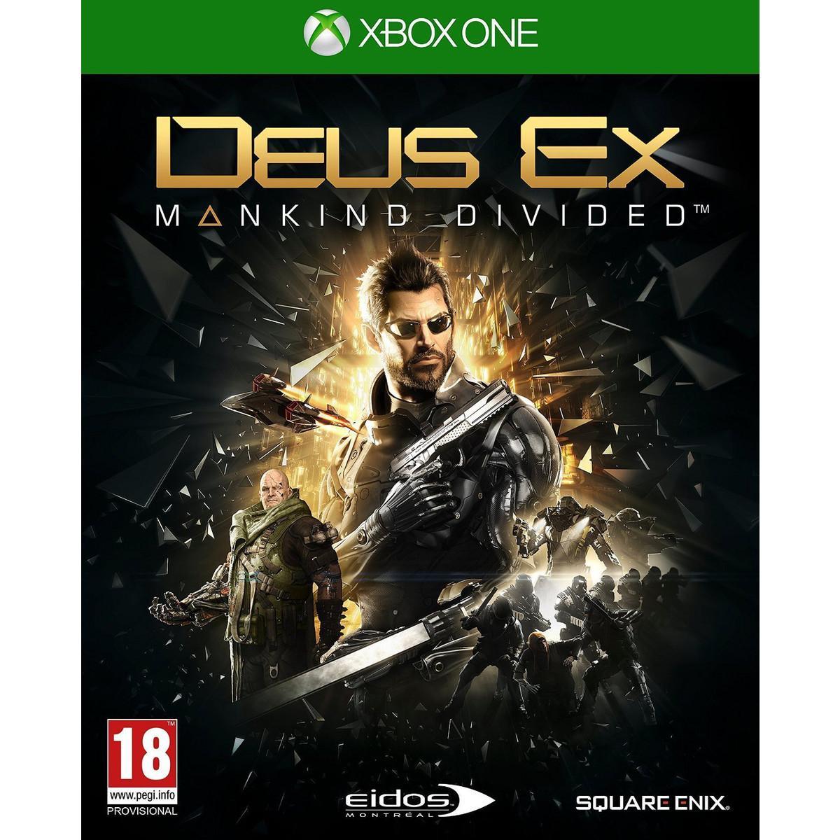 [Adhérents] Jusqu'à 20€ offerts sur la carte sur les précommandes - Ex : Deus Ex Mankind Divided Day One Edition sur Xbox One (+ 20€ sur la carte)