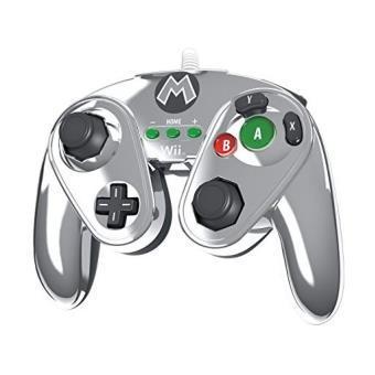 Sélection de manettes en promotion - Ex : Manette filaire PDP Fight (Mario Metal) pour Wii U