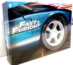 "[Blu-ray]  Fast and Furious ""Coffret pneu"" - 5 Films"