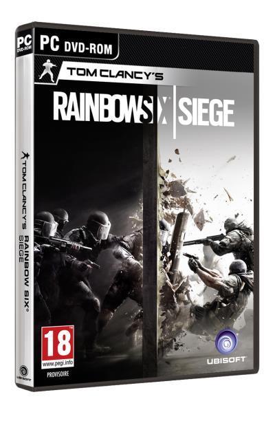 Rainbow Six Siege sur PC (version boîte)