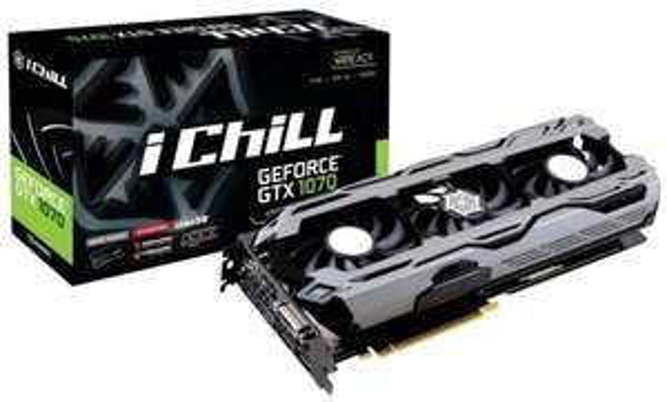 [Précommande] Carte graphique Inno3D GeForce GTX 1070 iChill X3 - PCIe 3.0 x16