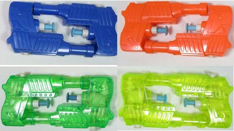Lot de 4 pistolets à eau