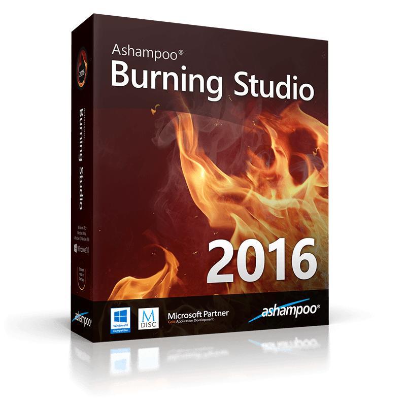 Logiciel de gravure Ashampoo Burning Studio 2016 offert sur PC (Dématérialisé)