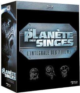 [Blu-ray] La Planète des Singes - Intégrale des 7 Films