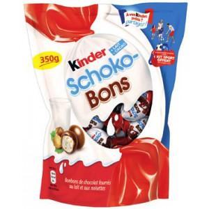 Sachet de Kinder Schoko-Bons 350g (via application Club Kinder + 1.23€ sur la carte + BDR)