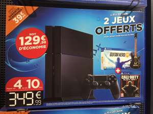 Pack PS4 500 Go + Call of Duty Black Ops III + Guitare Hero Live