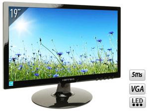 Ecran PC Hannsg HL190APB 19'' LED 5ms VGA 1366x768 avec haut-parleurs - Via buyster