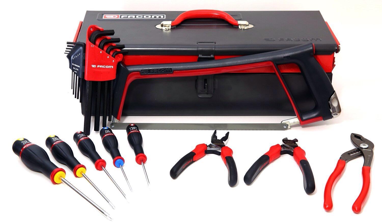 Boîte à outils Facom + 18 outils